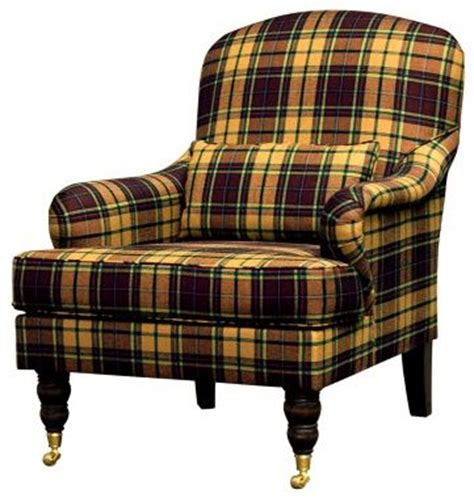 Purple Tartan Armchair Another Tartan Plaid Chair Classics Plaids Tartans