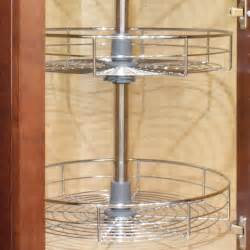 dowell 4001 360d 30 quot h wall corner lazy susan kitchen