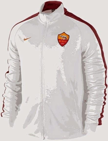 Jaket Roma Away Hitam jual jaket as roma warna putih terbaru musim 2014 2015