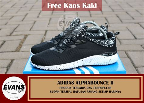 Harga Adidas Alphabounce Original jual sepatu adidas alphabounce original di lapak