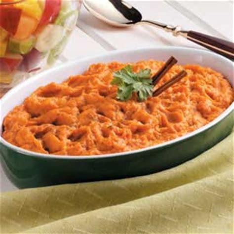 light sweet potato casserole recipe taste of home