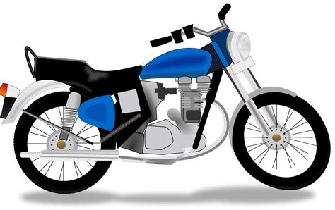 Two Wheeler Motorcycle by Motorcycle Clipart Two Wheeler Pencil And In Color