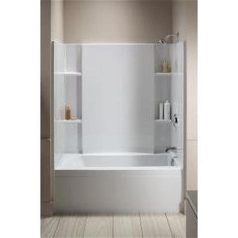 sterling accord bath shower sterling 71150120 0 accord white shower enclosures efaucets
