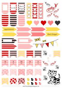 free cat images free printable planner stickers cats