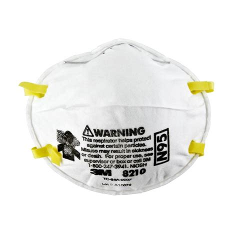 Masker N95 3m by 3m 8210 N95 Particulate Respirator Box Of 20 N95
