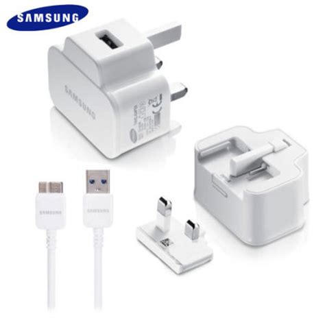 Official Samsung Charger With Micro Usb 32 official samsung travel adapter with micro usb 3 0 cable white