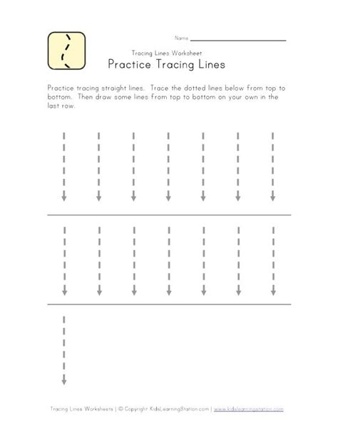 printable tracing lines preschool sheets 24 best preschool horizontal vertical strokes images