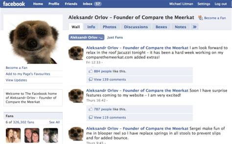compare the meerkat house insurance social media and car insurance a match made in heaven
