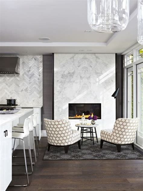 kitchen fireplace houzz white marble fireplace surround houzz