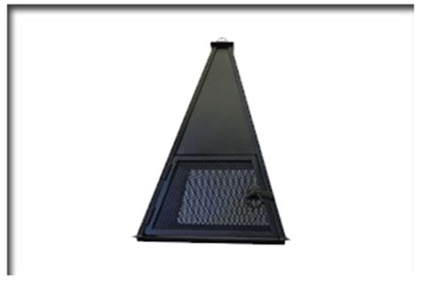 chiminea topper buck grills j g hearth home