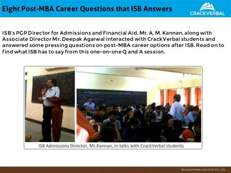 Average Salary After Mba From Isb by Isb Admissions Kit