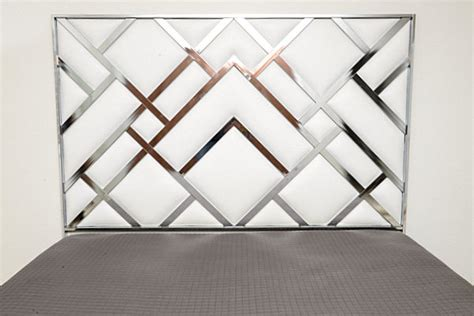 geometric headboard vintage bedroom ideas that make a unique statement