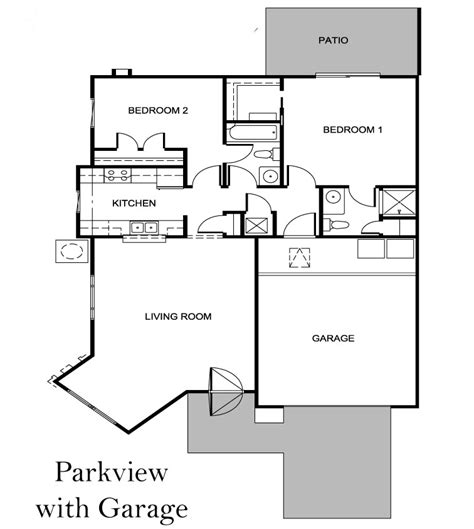 Parkview Apartments Floor Plan by Parkview Villas Moosehaven