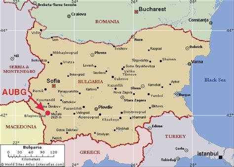 map of bulgaria bulgaria tourist map bulgaria mappery