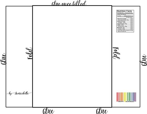 Free Chip Template Chip Bag Template Free Enjoy Gifts Pinterest Template Bag And Free