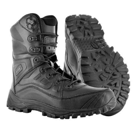 Magnum Light Speed High Boots Black 1 magnum lightspeed 8 0 boots black