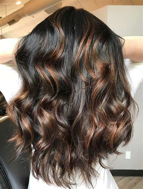 jet black hair for 40 year old woman with red highlights jet black hair for 40 year old woman with red highlights