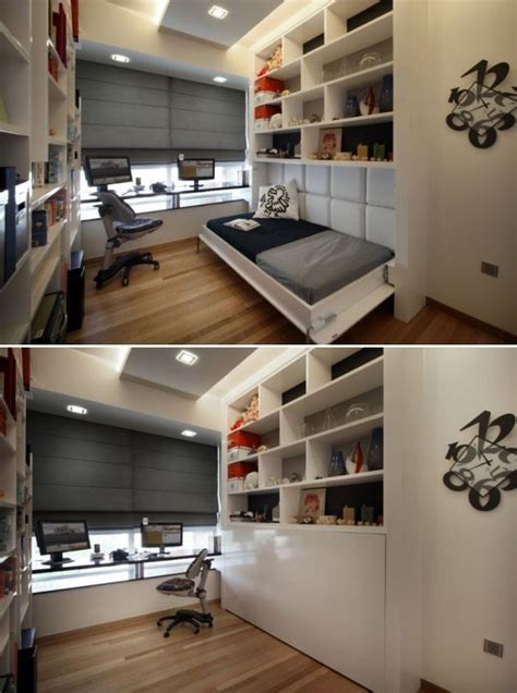 spare room ideas easy storage space study makes room when you aren t sleeping and looks easy to