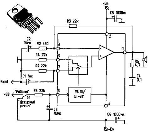 Audio Ic Tda 2052 St 60w pin tda 2052 60 vltta w on