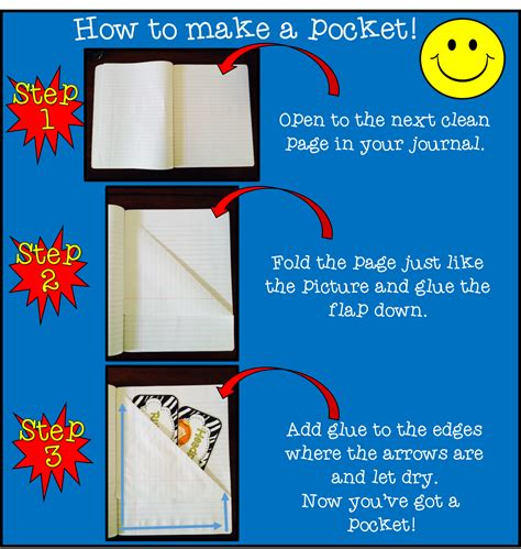 How To Make A Paper Pocket - all smiles in second grade monday made it aug 4th