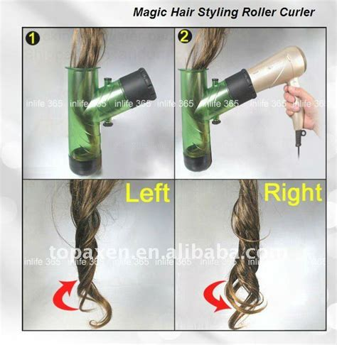 Panasonic Curly Hair Dryer plastic windspin hair dryers curl diffusers curler for