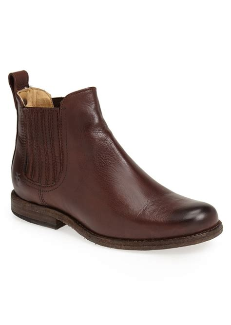 frye frye phillip leather chelsea boot shoes