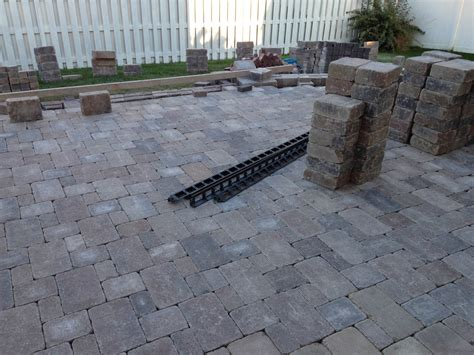 Paver Patio Install Paver Patio Installation How To Paver Patio Installation