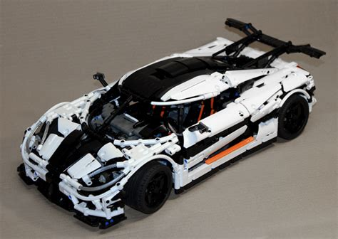 koenigsegg one top speed moc koenigsegg one 1 technic mindstorms model