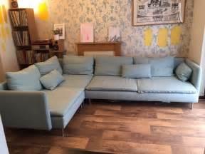 Kivik Slipcover Ikea Sofas Soderhamn Use Footstool As Coffee Table