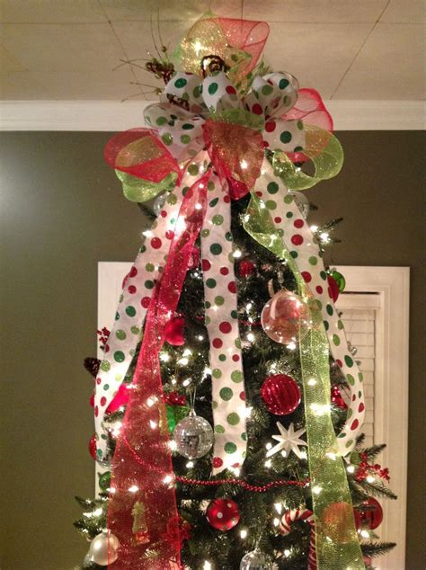 easy diy tree topper xmas pinterest