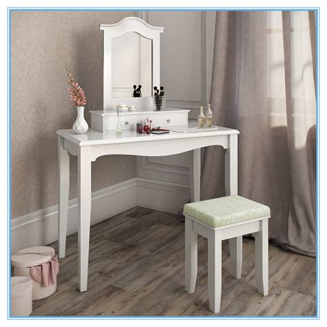 Inexpensive Vanity Table Cheap Wooden Dressing Table Makeup Vanity Table Set With Stool Buy Vanity Table Set Makeup