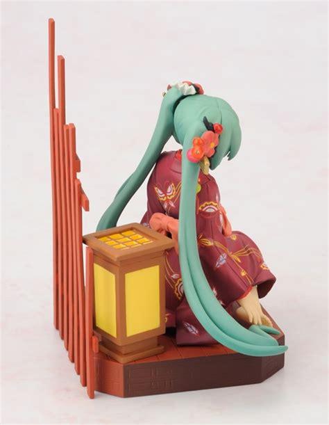 Hatsune Miku Asliori Hobby Stock Kaiyodo Japan Figure crunchyroll hobby stock to release kimono wearing