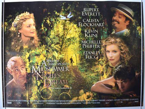 sam rockwell a midsummer night s dream a midsummer night s dream 1999 original quad film poster