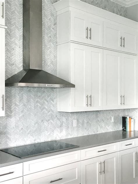 carrara marble kitchen backsplash carrara marble tile backsplash marble herringbone