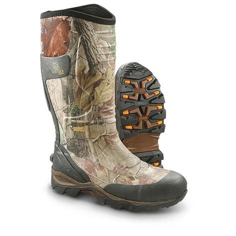 rubber boots hunting men s rocky 174 mudsox rubber boots realtree 174 ap 236188
