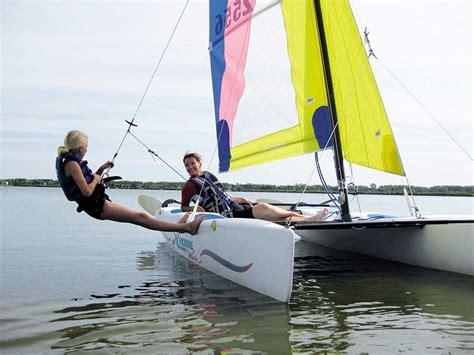 catamaran zeilen - Catamaran Drijvers
