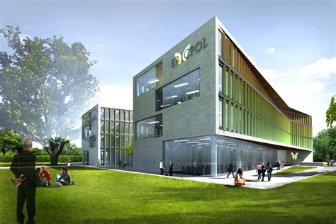 new construction design the design of the new office building of ericpol in lodz