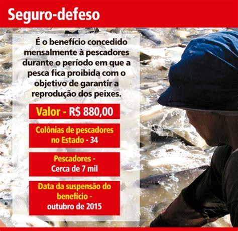 seguro defeso pescadores v 227 o receber benef 237 cio no tocantins