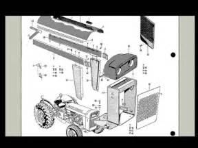 massey ferguson to 35 mf 202 204 tractor parts manual gas diesel spares list ebay