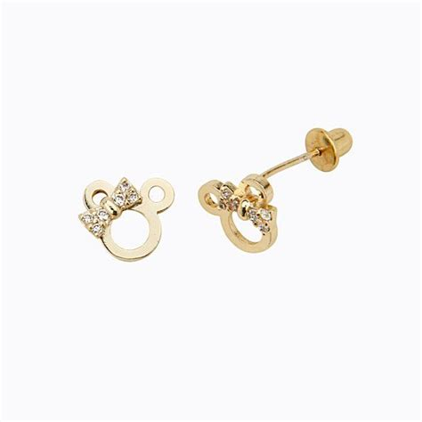 14k Gold Plated Mouse 25 best ideas about baby earrings on bird