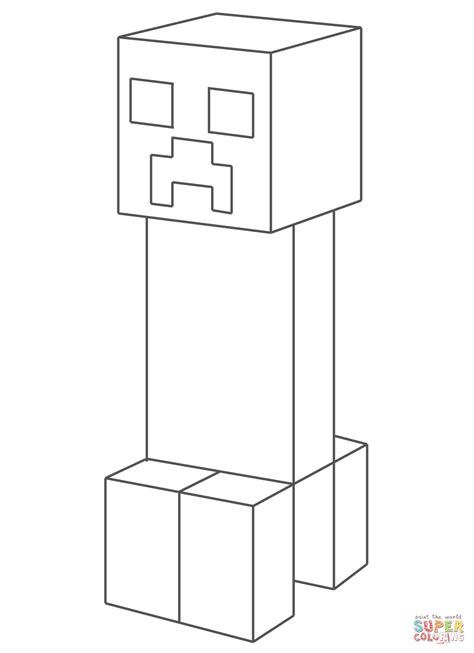 minecraft mooshroom coloring page 86 minecraft creeper color by number minecraft