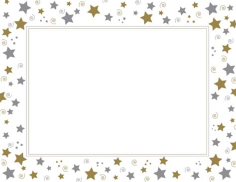 printable gold star certificate free award outline cliparts download free clip art free