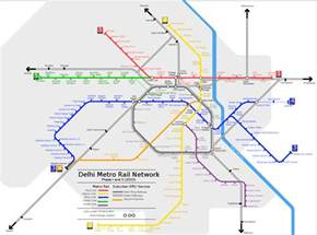 Metro Rail Schedule Delhi New Delhi India Travel India S City The