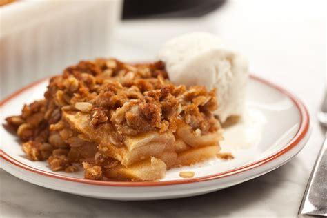 easy apple crisp recipe chowhound