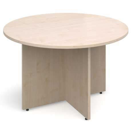 Circular Boardroom Table Circular Boardroom Table With Contemporary Arrowhead Leg Design