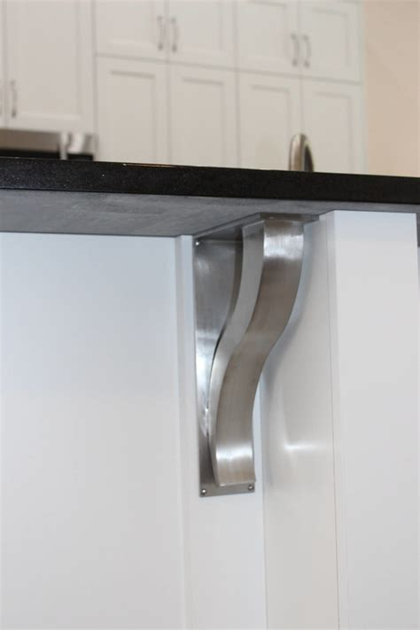 Kitchen Island Brackets Stainless Steel Bar Brackets Modern Shelf Bracket Granite Top Suppor