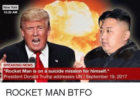 donald trump rocket man 25 best memes about btfo btfo memes
