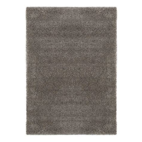 Thick Shag Area Rug Ottomanson Ultra Shag Collection High Pile Thick Shaggy Grey 7 Ft 10 In X 9 Ft 10 In Solid