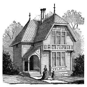 clip art house illustration and victorian houses on pinterest