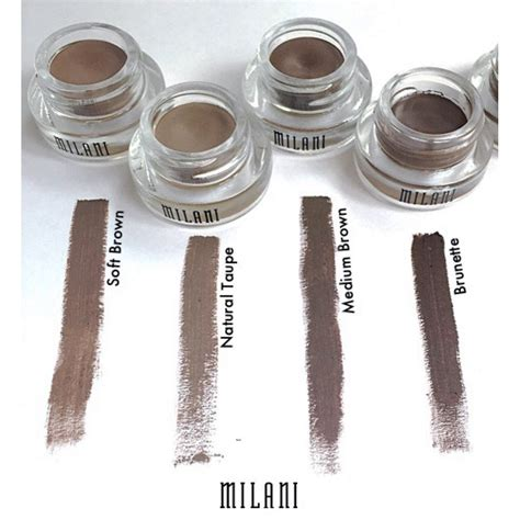 Original 100 Milani Stay Put Brow Color harga spesifikasi milani stay put brow color medium